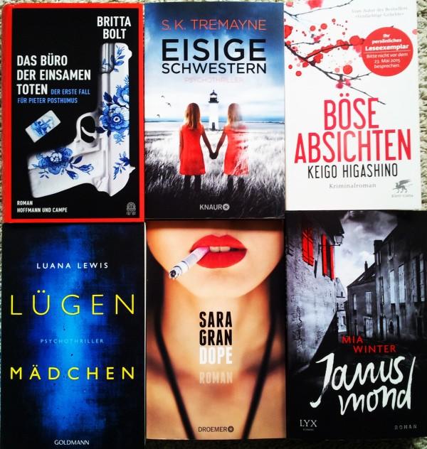 Buchblog, Neue Bücher