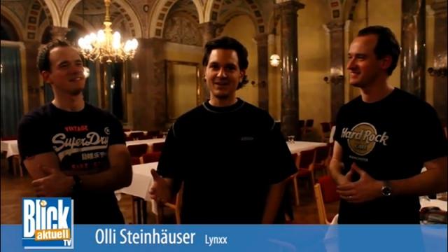 Carl Eschenauer, Oliver Steinhäuser, Claus Eschenauer (v. l.)