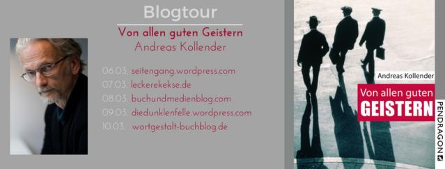 blogtour-header_Oliver Steinhaeuser_Buch_Blog_Literatur_Andreas Kollender_Von allen guten Geistern