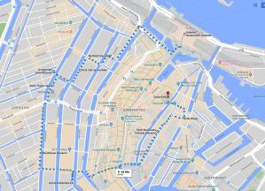 Spaziergang durch Amsterdam